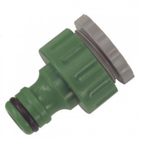"""1/2""""-3/4"""" Threaded Tap Connector"""