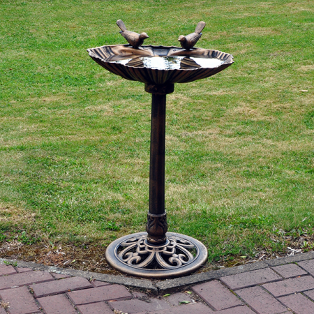 Bird Bath Bronze Effect