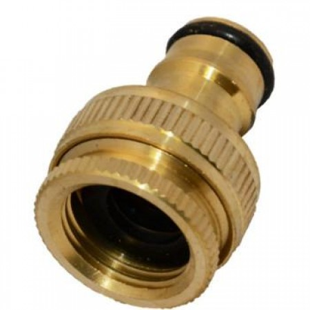 Hose Fitting / Brass / Threaded Brass Tap Connector