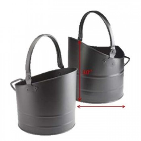 2 Set Black Coal Bucket