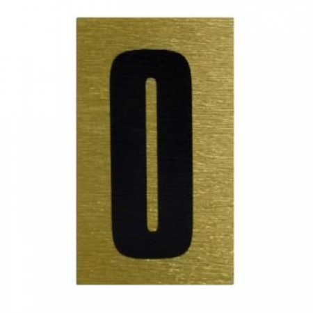 Easy Space Letter and Number Stickers / Gold / Full Wallet