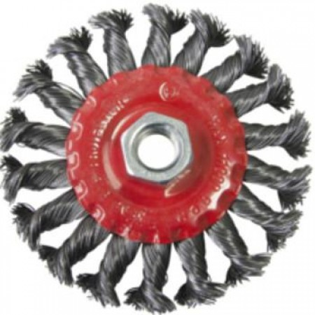 "4"" Twist Knot Wire Wheel"