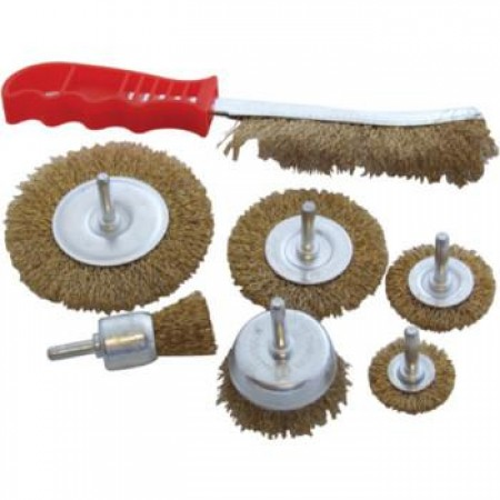 7pc Wire Brush Set