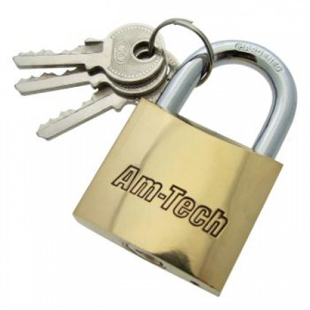 Padlocks Brass - 38mm