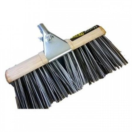 Clamp Round Broom Metal