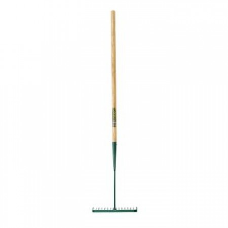 Bulldog Ash Handle Tarmac Rake - 48""
