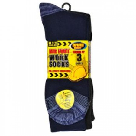 Mens 3pk Erbro BigFoot Work Socks