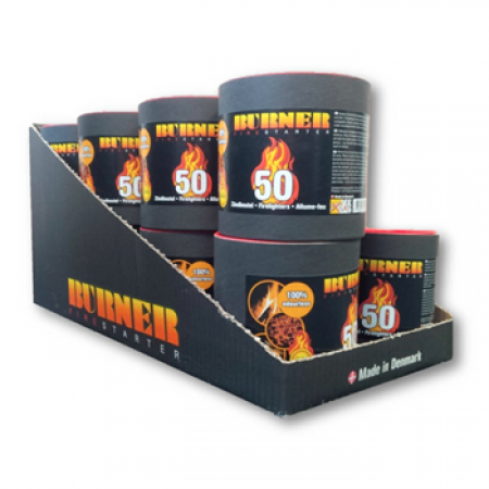 Burner Firestarter Barrel / 50pc